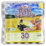 Яйцо куриное Big Family 30шт