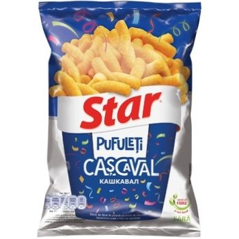 Снеки Star со вкусом сыра 73г - купить, цены на Метро - фото 1