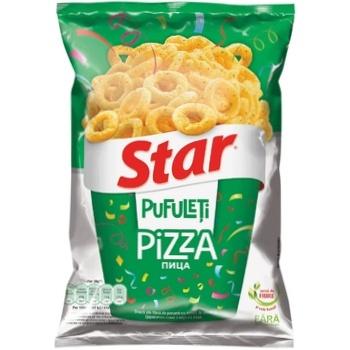 Снеки Star со вкусом пиццы 70г - купить, цены на Метро - фото 1