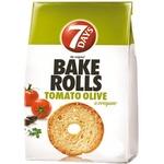 Сухарики 7Days Bake Rolls помидоры/оливки 80г