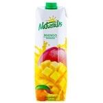 Напиток с содержанием сока Naturalis персик/манго 1л