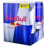 Энергетические напиток Red Bull ж/б 4x0,25л