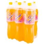 Прохладительный газированный напиток Topic тутти- фрутти 6x1,5л