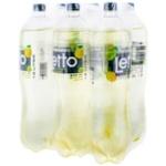 Прохладительный газированный напиток Letto груша 6x1,5л