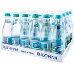Apă potabilă necarbogazoasă Bucovina 24 sticle x 0,33l