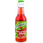 Băutură Tymbark cu continut de suc de mere/si zmeura/si cu extract de menta 0,25l