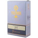 Коньяк Tezaur XO Gold 7 лет 0,5л в коробке