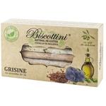 Гриссини Biscottini с семенами льна 200г
