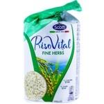 Rondele Riso Scotti de porumb si orez cu ierburi 100g