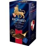 Чай Richard черный в пакетиках Royal English 25x2г