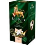 Чай Richard Зеленый жасмин в пакетиках 25x2г