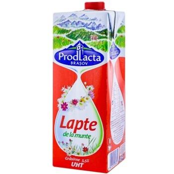 Lapte de la munte Prodlacta 3,5% 1l - cumpărați, prețuri pentru Metro - foto 1