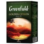 Ceai Greenfield negru infuzie Ceylon 100g
