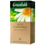 Ceai Greenfield din musetel in plicuri 25x1,5g
