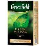 Ceai Greenfield verde infuzie Green Melisa 85g