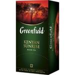 Чай Greenfield черный в пакетиках Kenyan Sun 25x2г