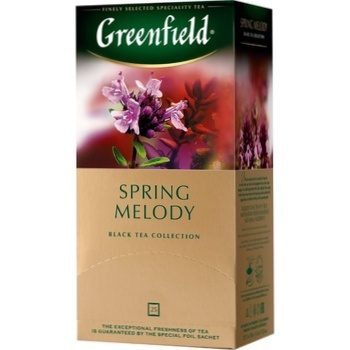 Ceai Greenfield negru in plicuri Spring Melody 25x1,5g - cumpărați, prețuri pentru Metro - foto 1