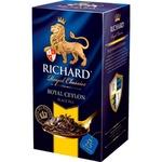 Ceai Richard negru in plicuri Ceylon 25x2g