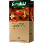 Ceai Greenfield negru in plicuri cu fructe de padure 25x2g