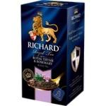 Чай Richard Тимьян / Розмарин в пакетиках 25x2г