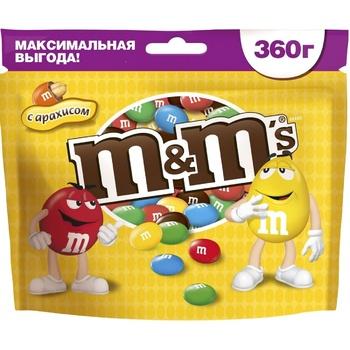 Драже M&M's с арахисом 360г - купить, цены на Метро - фото 1