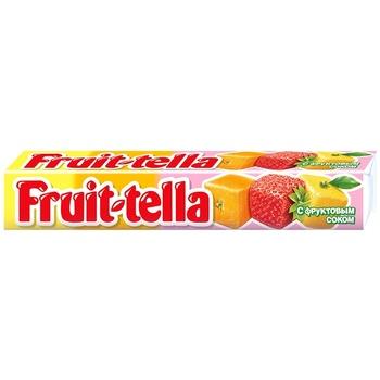 Жевательные конфеты Fruittella ассорти 41г - купить, цены на Метро - фото 1