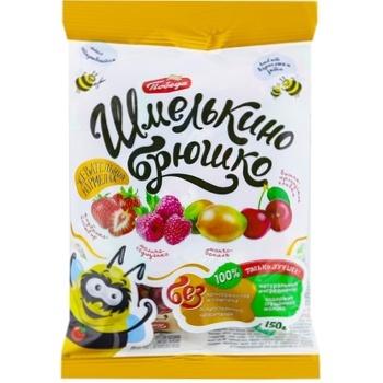 Жевательные конфеты Победа Шмелькино Брюшко 150г - купить, цены на Метро - фото 1