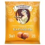 Cafea solubila Petrovskaia Sloboda 3in1 caramela 25x20g