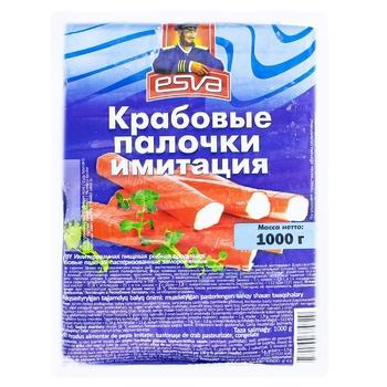 Крабовые палочки ESVA 1кг - купить, цены на Метро - фото 1