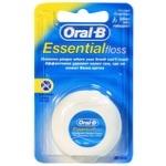 Зубная нить Oral-B Essential Floss 50м