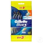 Aparat de ras Gillette Blue3 12 buc