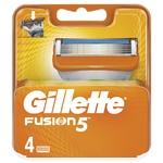 Кассеты Fusion Power Gillette 4шт.
