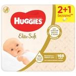 Servetele umede Huggies Elite Soft 3x56buc