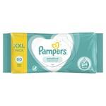 Влажные салфетки Pampers Sensitive 80шт