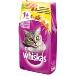 Корм сухой для кошек Whiskas утка курица 1,9 кг