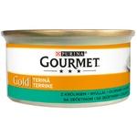 Корм для кошек Gourmet курица/печень 85г