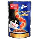 Hrana pentru pisici Felix vita/tomat 100g