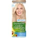 Стойкая питательная крем-краска Garnier Color Naturals 111 Платиновый блондин