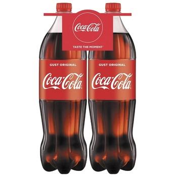 Băutură răcoritoare carbogazoasă Coca-Cola PET 2x1,5l - cumpărați, prețuri pentru Metro - foto 1