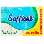 Hartie igienica Soffione Nature 3 straturi 24role