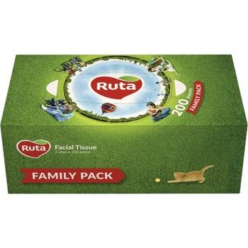 Servetele cutie Ruta Family 2 straturi 200buc - cumpărați, prețuri pentru Metro - foto 1