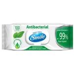 Влажные салфетки Smile Подорожник 100шт