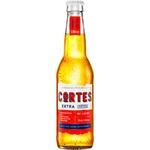 Пиво светлое Cortes Extra 0,33л