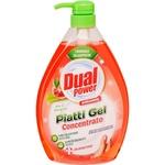 Средство для мытья посуды Dual Power Aloe 1л