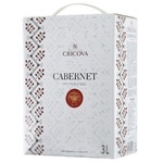 Вино Cricova National Каберне-Cовиньон красное сухое bag in box 3л
