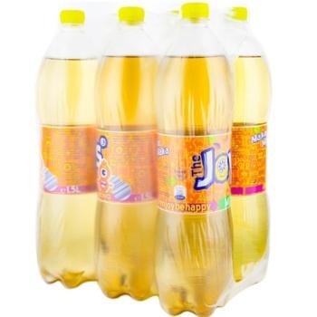 Прохладительный газированный напиток JOY's микс 6x1,5л - купить, цены на Метро - фото 1