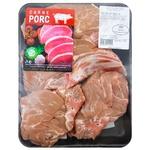 Ceafa de porc Carne Porc cu os refrigerata feliata