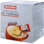 Кофе растворимый MacCoffe Cappuccino Шоколад 10 штук х 25г