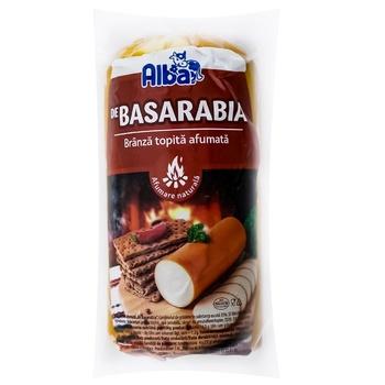 Сыр плавленый Alba копченый порционный - купить, цены на Метро - фото 1