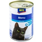 Hrana pentru pisici ARO peste 415g